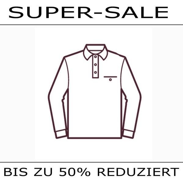 SUPER SALE  langarm  Poloshirt
