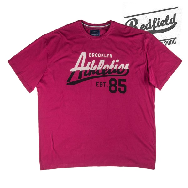 Redfield Druck T-Shirt Brooklyn Athletics 85