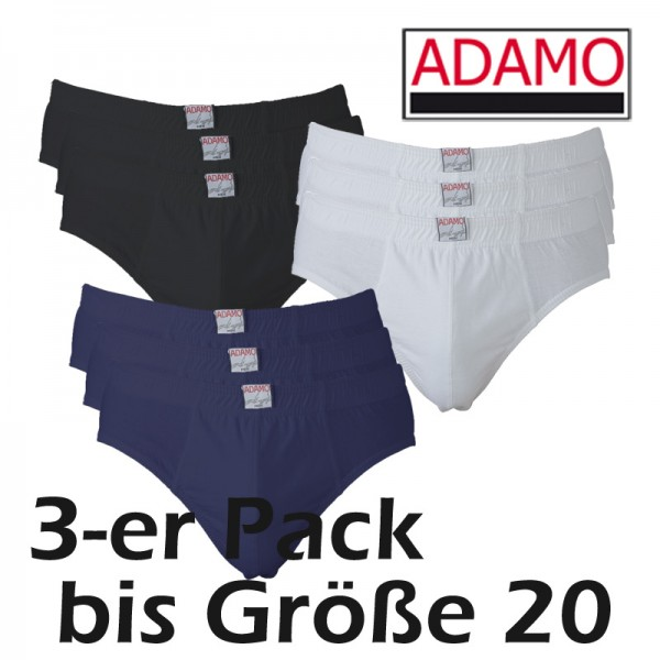 ADAMO IAN  Slip ohne Eingriff im 3-er Pack