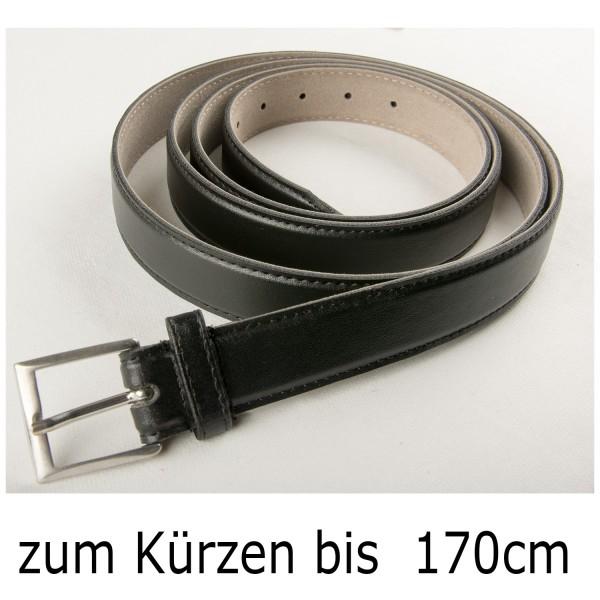 Gürtel aus Kunstleder 30 mm breit ca 175cm lang zum Selberkürzen