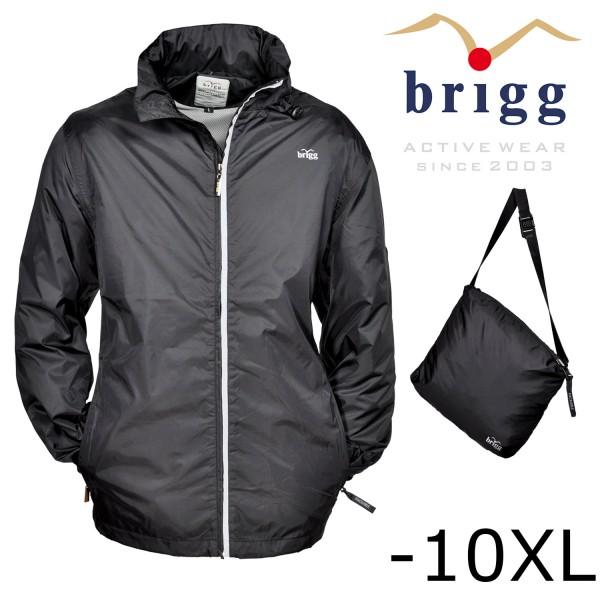 Brigg Funktions- Regenjacke -packable