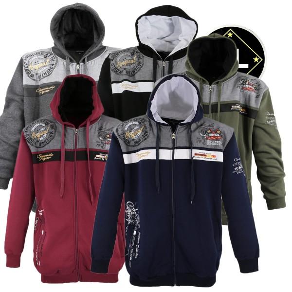 Lavecchia Sweatshirt Jacke mit Kapuze